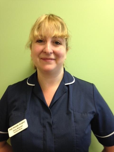 Nurse Vicky Waywell
